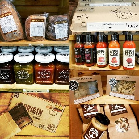 Lismore, Australia: Products from The Bircher Bar Pantry