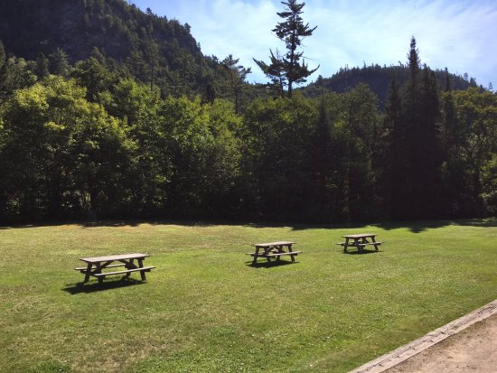 Sault Ste. Marie, Canada: picnic area at the destination