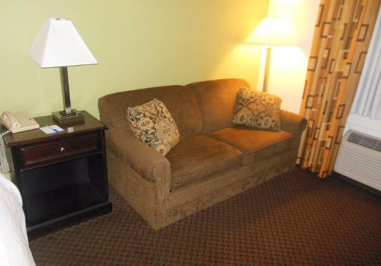 Baymont Inn & Suites Battle Creek Downtown: Couch