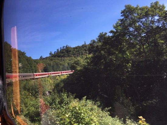 Agawa Canyon Tour Train: train