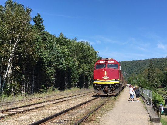 Sault Ste. Marie, Kanada: train