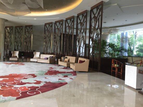Zhangzhou, Cina: Lobby lounge
