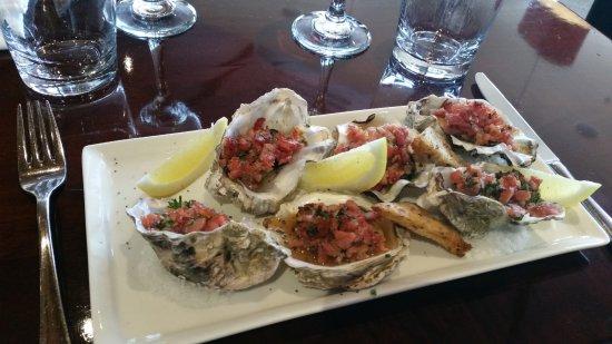 มาสเตอร์ตัน, นิวซีแลนด์: oysters