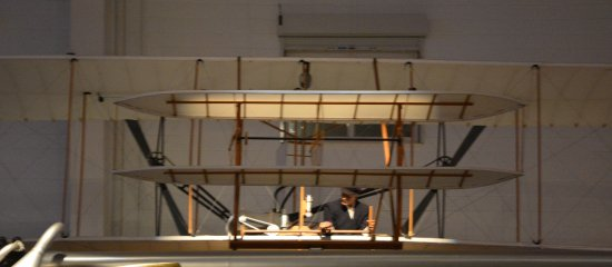 Carolinas Aviation Museum: Replicate of the Wright Flyer of 1903