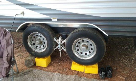 Άντερσον, Νότια Καρολίνα: Was still 2 inches out of level...