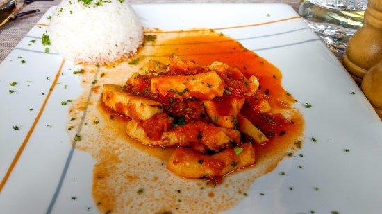 Tamarin: Calamari in creole sauce