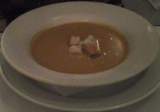 Angelo's : The flavorful Lobster Bisque