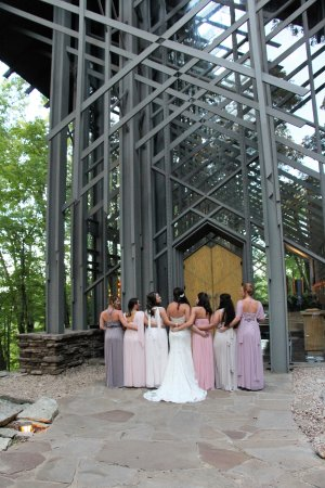 Wedding at Thorncrown Chapel - Picture of Thorncrown Chapel