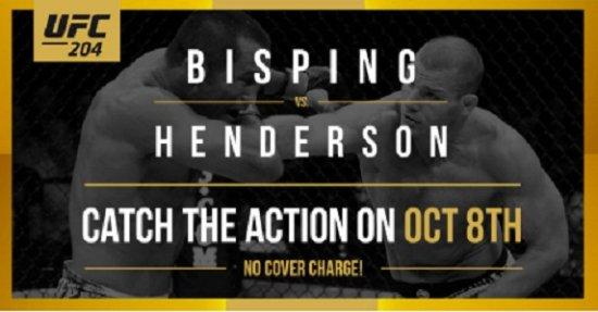 Κοκιτλάμ, Καναδάς: UFC 204 At Select JRG Public Houses