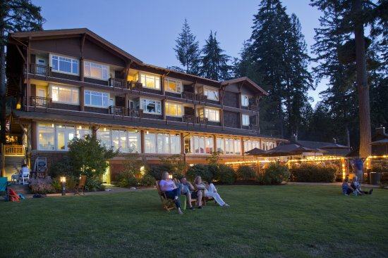 Union, WA: Our property overlooks Hood Canal framed by the Olympic Mountains.