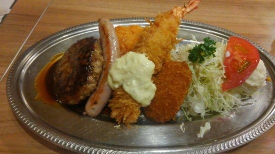 Toyonaka, Japonia: 洋食プレートです