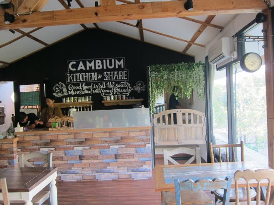 Smoking area open space Picture of Cambium Kitchen &