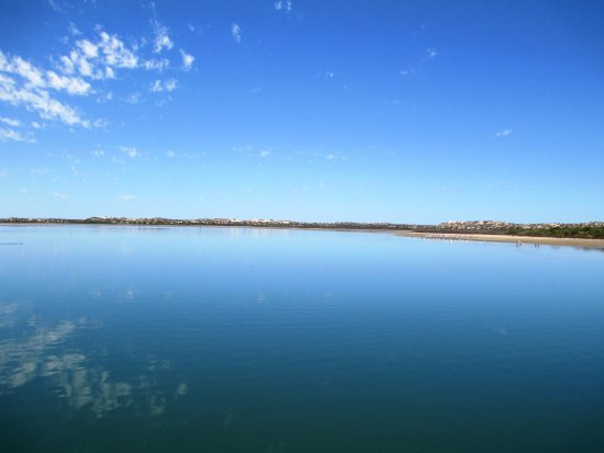Goolwa, ออสเตรเลีย: Very calm waterways in the Coorong National Park