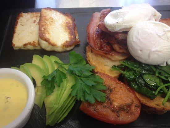 Windsor, ออสเตรเลีย: pokkie breakfast