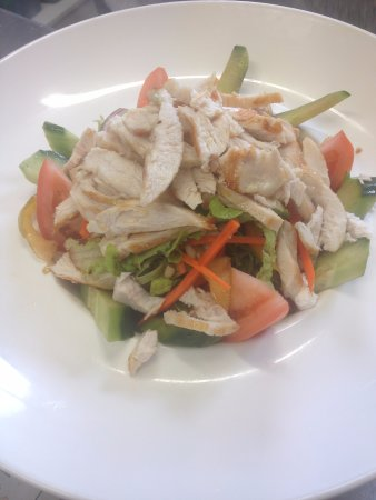 Windsor, Australien: chicken salad