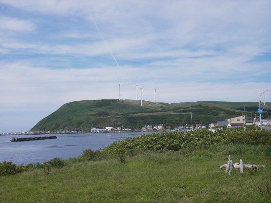 Wakkanai, Japón: 宗谷丘陵に風力発電の風車が並びます
