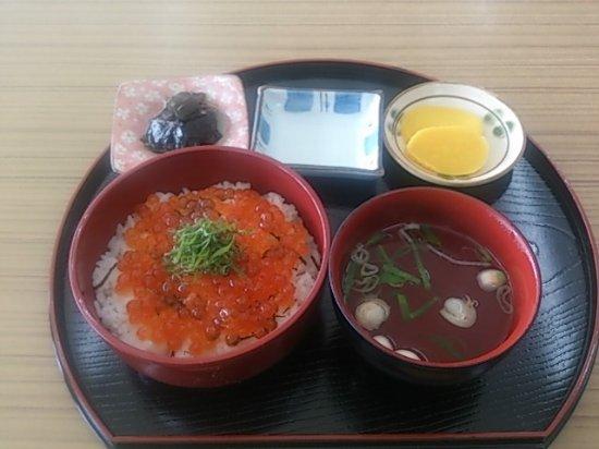 Wakkanai, Japón: 現地で食べたイクラ丼