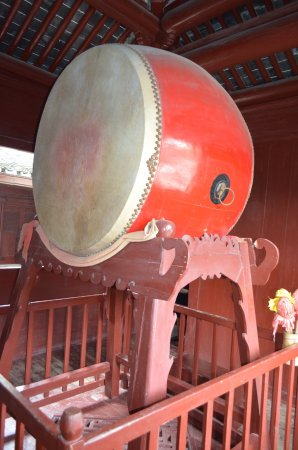 Ningbo, China: Baoguo Temple - Drum Tower