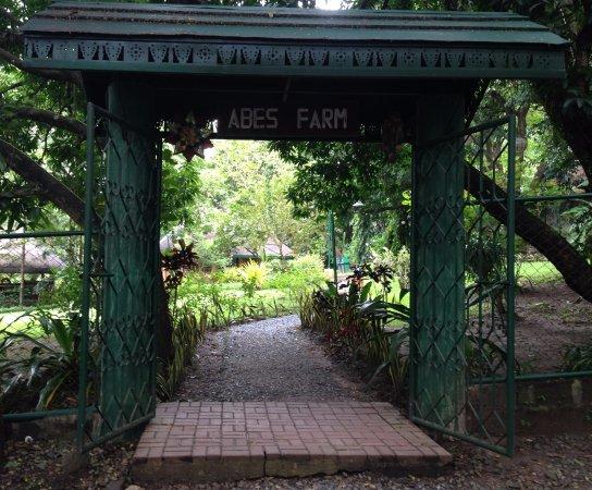 Central Luzon Region, ฟิลิปปินส์: entrance to spa