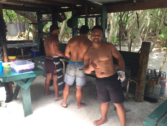 Muri, Islas Cook: BBQ anyone?