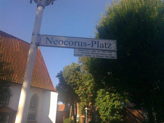 Büsum, Tyskland: Wer war Neocorus? Dithmarschens 1. Chronist auch Pfarrer