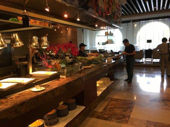 Wenling, Kina: 朝食の種類は多いです。