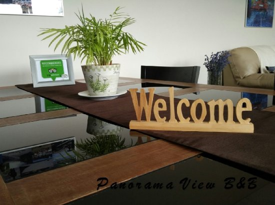 Вернон, Канада: Welcome to Panorama View Bed and Breakfast