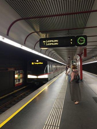 Austria Classic Hotel Wien: Венское метро
