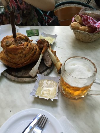 Austria Classic Hotel Wien: Ужин в Пратере