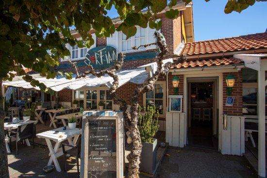 Scharendijke, Pays-Bas : Terras Surf-Inn