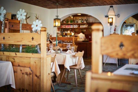 Alvaneu, Schweiz: Blick zum Service