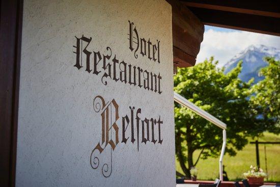 Alvaneu, Switzerland: Hotel Restaurant Belfort