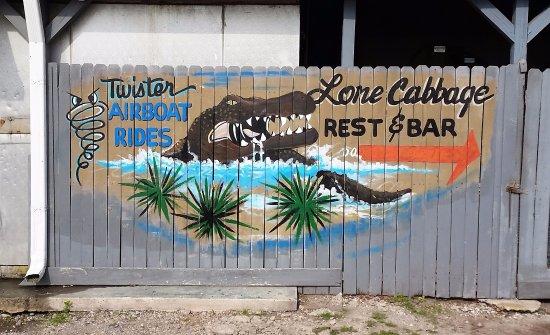 Cocoa, FL: Twister Sign