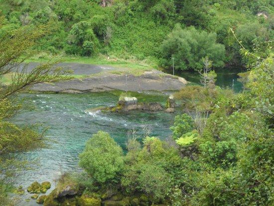 Ταούπο, Νέα Ζηλανδία: avant la cascade