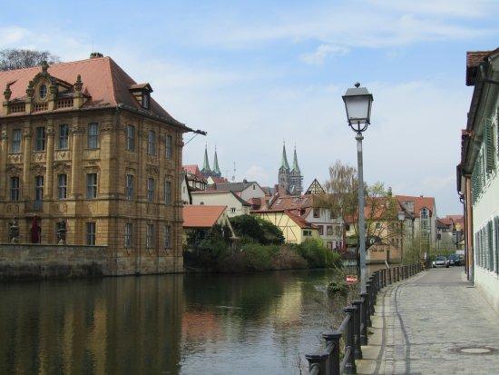 Neu-Bamberg, Germany: вилла конкордия с воды