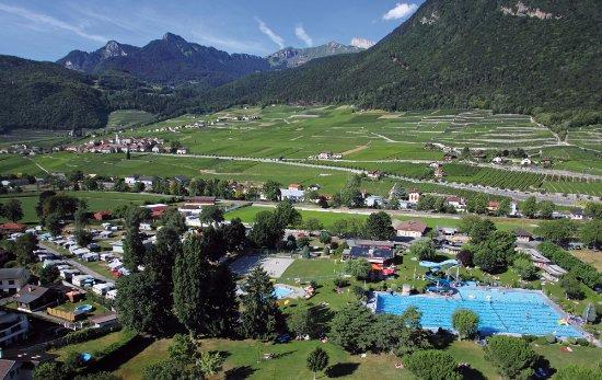 camping de la piscine aigle suisse voir les tarifs et