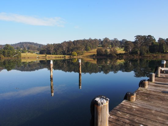 Narooma, Australia: View from the pier