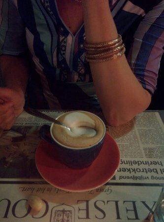 Den Burg, Países Baixos: Perfecte cappuccino