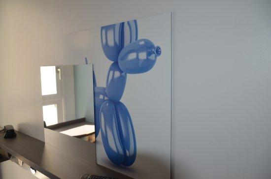 Kyriad Metz Centre: décoration