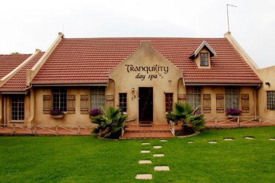 Benoni, África do Sul: Welcome to Traquility Day Spa