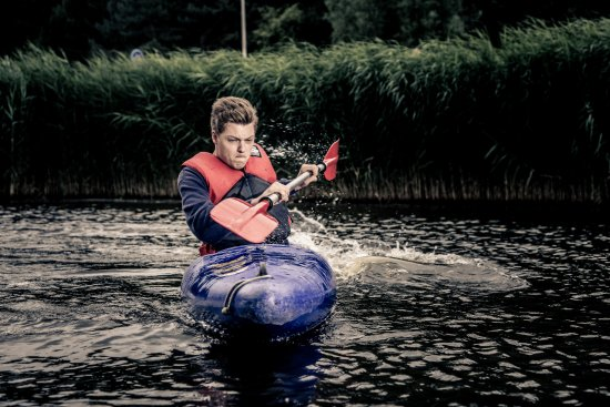 Zoetermeer, Holandia: Kanoen; blackwood kayaking.