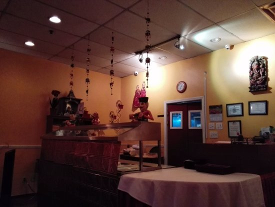 Bhoj Indian Restaurant: Dining hall