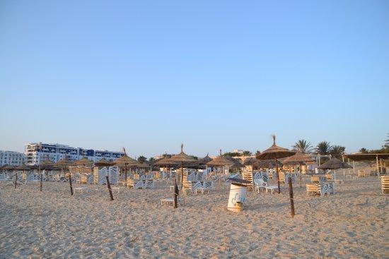 Marhaba Club Hotel : Пляж