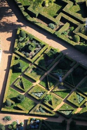 Chateau de Ballon - Details of the Enclosed Garden