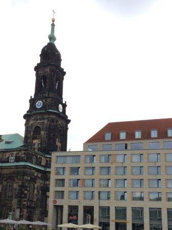 Ibis Budget Dresden City: Площадь рядом с гостиницей
