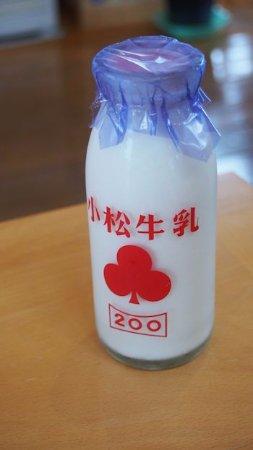 Hamanaka-cho, Japan: しぼりたての牛乳の味でおいしかったです