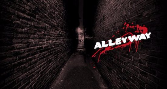 Wolverhampton, UK: Alleyway