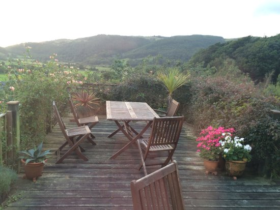 Machynlleth, UK: Lovely view, family room and local area