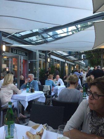 La Cucina München auf der terrase picture of la cucina trattoria munich