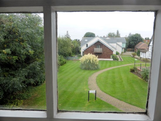 Ruislip, UK: View from my window. Lovely but perhaps some light net curtains would aid privacy!